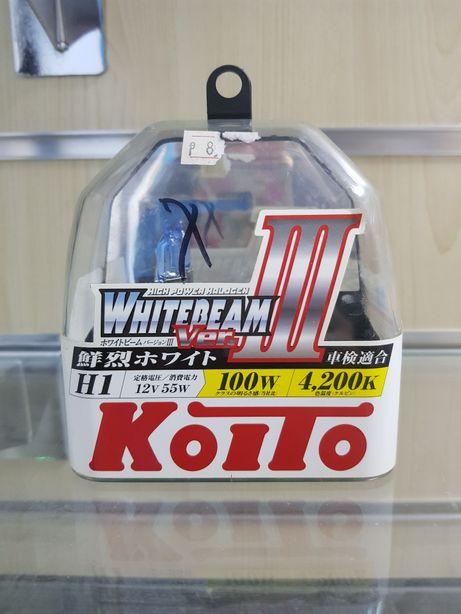 Лампа KOITO H1 12V 55W box 2 шт.