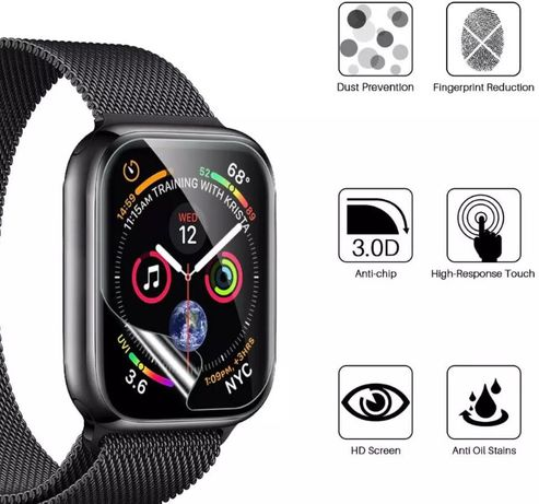 Folie Protectie Apple Watch serie 1,2,3,4,5 38mm,40mm,42mm,44mm