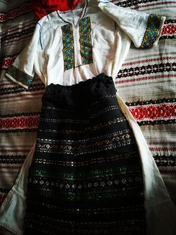 Costum popular tradițional damă