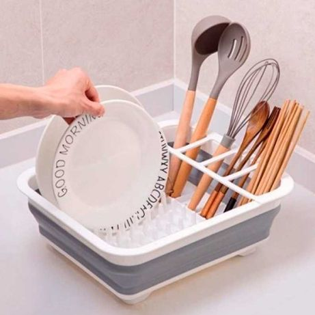 Сушилка для посуды. Есть кнопка для слива воды! Качество! 100 ЭФФЕКТ