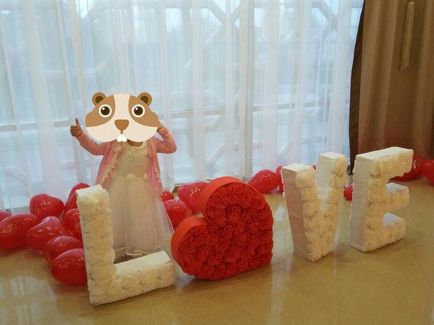 На свадьбу фотозона
