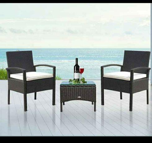 Две кресла и - Една маса материал: синтетичен ратан