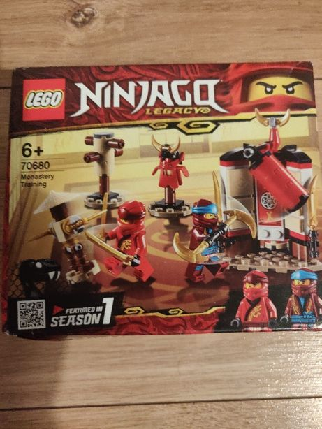 LEGO Ninjago - Antrenament la manastire 70680