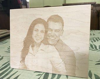 Portrete gravate pe lemn