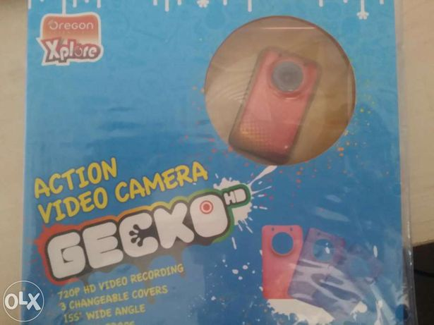 Vând schimb camera video de acțiune oregon gecko gen gopro sau ion air