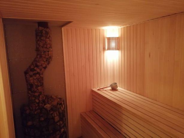 Баня на дровах с купелью