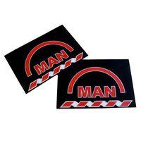Калобрани за MAN гумени размер 60/40 см задни МАН 2 броя