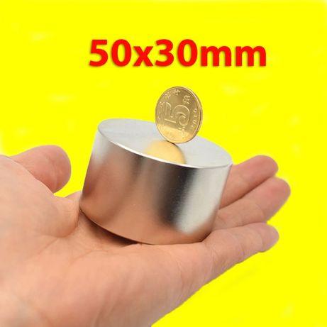 Неодимов МАГНИТ 50x30mm + други размери