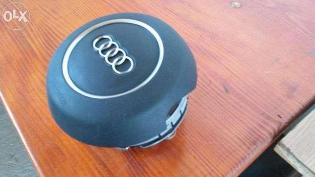 Airbag volan Audi A1 A2 A3 A4 A5 A6 A7 A8 Q3 Q5 Q7-3 trei spite rotund
