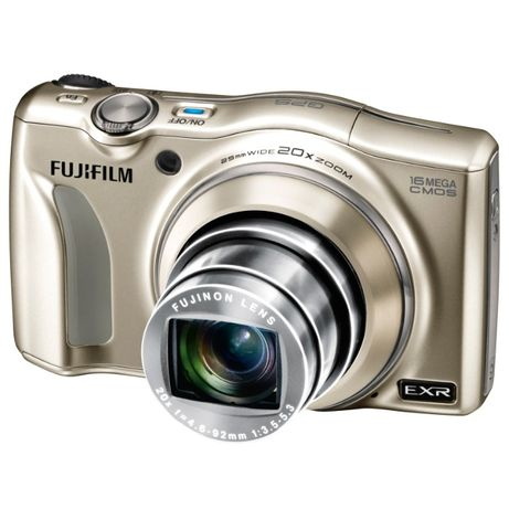 Aparat foto digital Fujifilm FinePix F770EXR, 16MP, Champagne Gold
