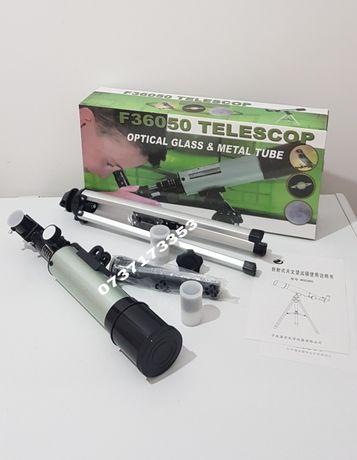 Telescop astronomic,argintiu,model F36050
