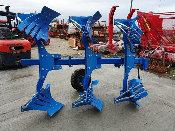 Plug reversibil hidraulic 3 trupite 2 + 1 Konig 90 - 120 CP DH12