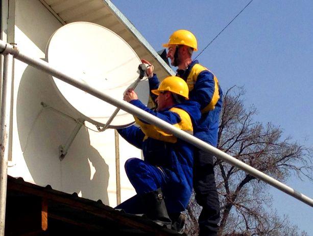 Установка ,ремонт всех видов спутниковых антенн
