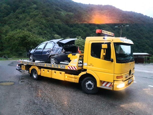 Tractari auto non stop Talmaciu , Valea oltului .A1 .Transfagarasan