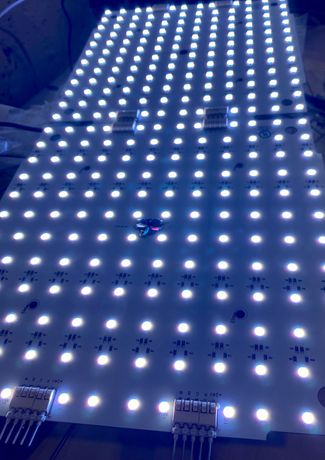 LED RGBW SMD5050 панел 25х25см, 24V
