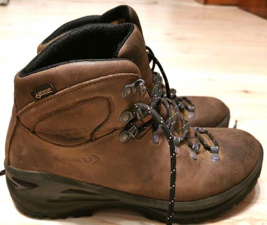 Bocanci Trekking AKU Tribute II GTX Brown Leather 39 stare foarte buna