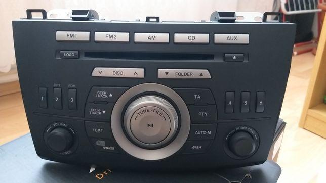Consola/Cd Player/Radio Cd mp3/Magazie 6 cd/Mazda 3 ,2010-2014