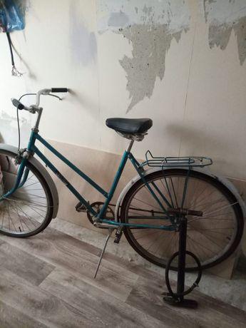 Велосипед советский, с насосом