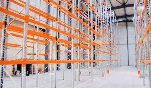 Rafturi metalice industriale pentru hale port europaleti