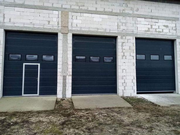 Ușă garaj l3200x4500 Antracit cu lanț