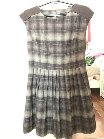 Платье шерстяное с подкладом