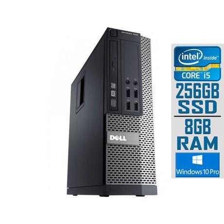 Компютър Dell OptiPlex 3020 , Intel Core i3 (3.2) GHZ , 8GB , 256 SSD