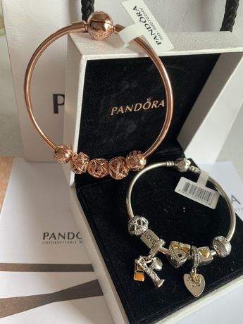 Гривни с талисмани Pandora/Пандора