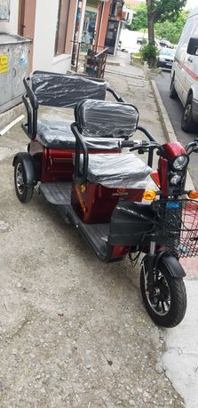 Електрически скутери и триколки 2000вата 60волта