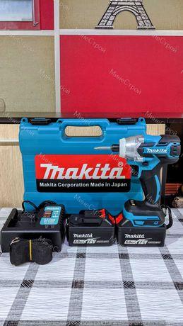 БЕЗЧЕТКОВ Акумулаторен Винтоверт Makita impact 72v с 2 батерии 5.0Ah