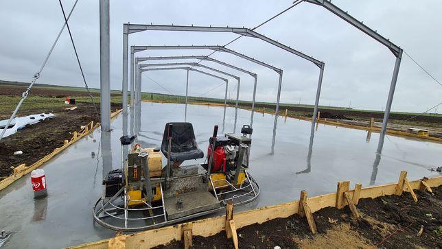 Turnari beton - elicopterizat cu cuart finisat sclivisit cu elicopter