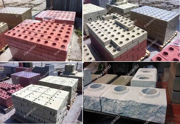 Завод по производство на ЛЕГО тухли, строителния материал.