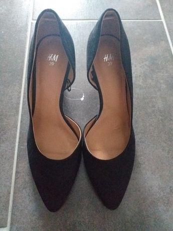 Pantofi escarpen H&M cu toc comod NOU