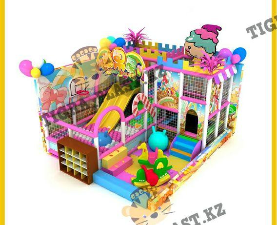 Детский игровой лабиринт на заказ