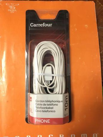 Cablu telefon 10 m/5 m