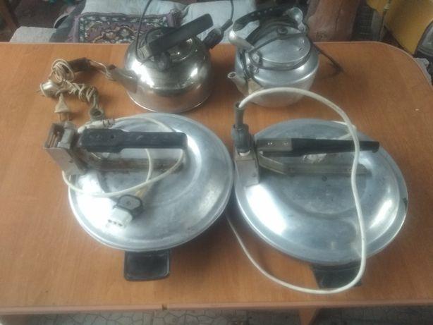 Чудо печки и чайники с кипятильниками СССР