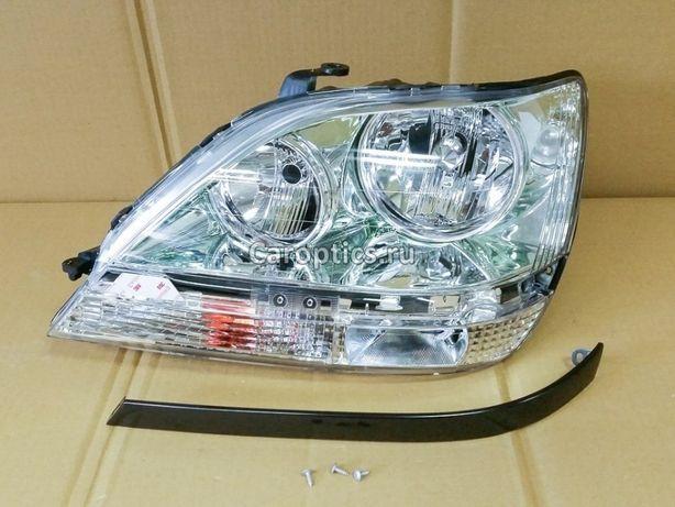 Фара/капот/решетка/бампер/радиатор/телевизор на Рх300/Lexus Rx300