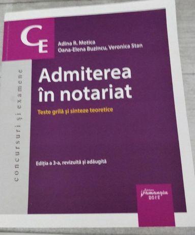 Adina R. Motica,Oana-Elena Buzincu,Veronica Stan-Admiterea in notariat