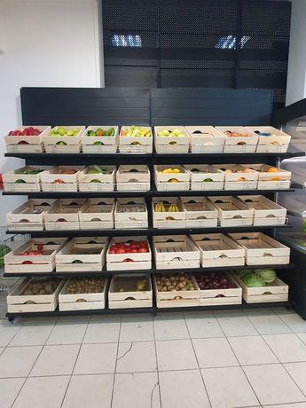 Метален Стелаж за плодове и зеленчуци