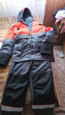 Зимний костюм РЖД. для защиты от пониженных температур.