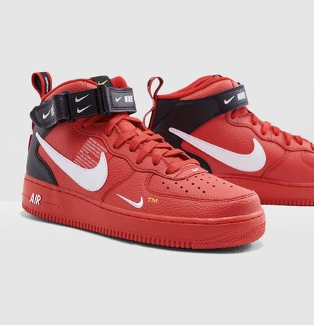Nike AIR Force Red 1 MID '07 LV8 размер 41