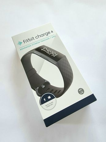Fitbit Charge 4, Black, Advanced Fitness Tracker + GPS SIGILAT