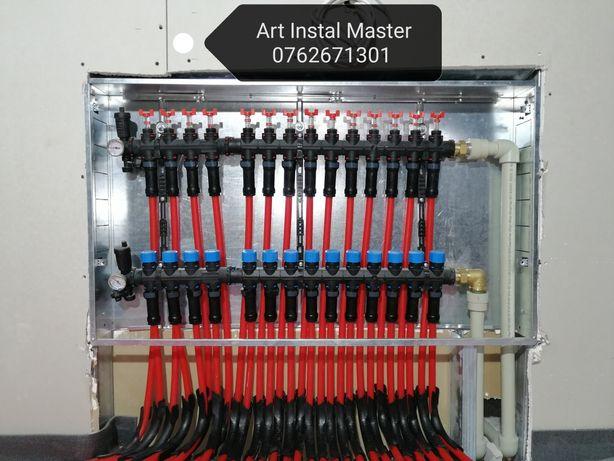 Instalator, încălzire în pardoseala, centrale termice, sanitare