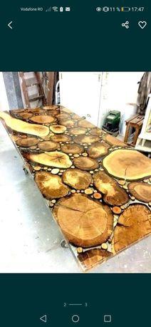 Rasina epoxidica pentru finisaje/îmbinare mobilier hand made