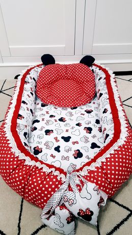 Baby nest Minnie Mouse complet lavabil