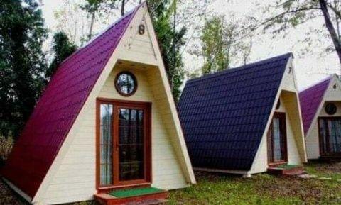 Realizam.casa din lemn, o cabana, un foișor sau o casuta de vacanta,,,