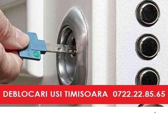 B.C.B.G TIMISOARA - INGINER MECANIC Deblocari usi Blindate non stop