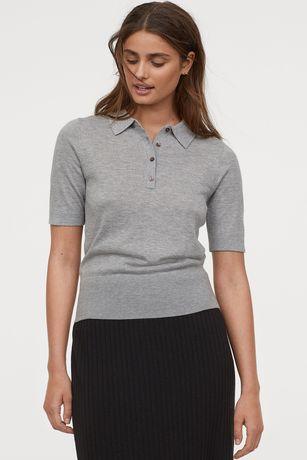 Bluza pulover gri H&M
