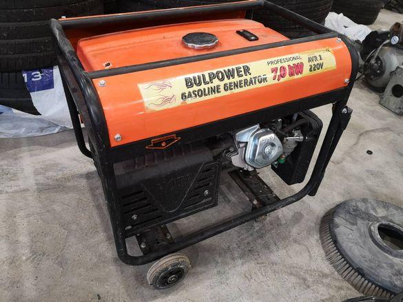 Бензинов генератор 7.0 kw под наем
