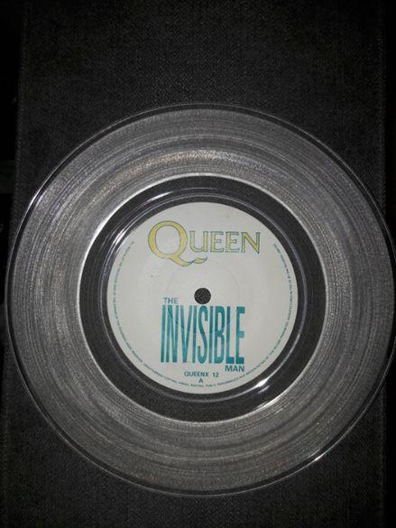"Queen – The Invisible Man, Vinyl, 12"", 45 RPM, Maxi-Single, 1989"