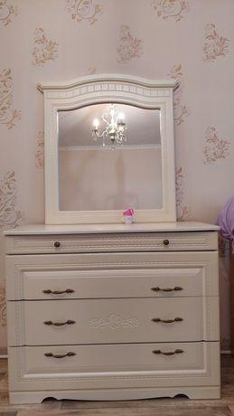 Комод с Зеркалом / Белорусская Мебель
